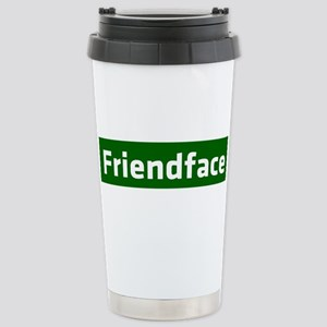 IT Crowd - Friendface Stainless Steel Travel Mug