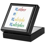 Mother of Multiple Multiples Keepsake Box