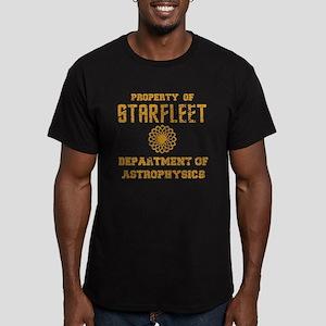 Star Trek Dept of Astrophysics Men's Fitted T-Shir