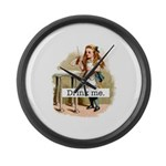Alice In Wonderland Large Wall Clock
