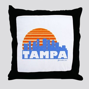 Tampa Pride Throw Pillow
