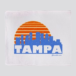 Tampa Pride Throw Blanket