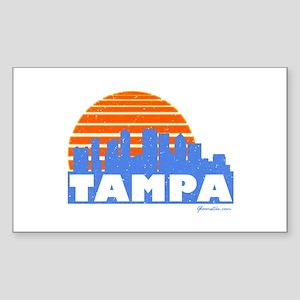 Tampa Pride Sticker (Rectangle 10 pk)