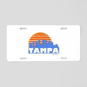 Tampa Pride Aluminum License Plate