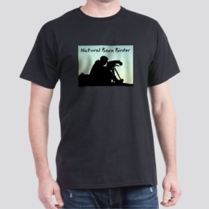 Natural Born Birder Black T-Shirt