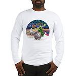XmasMagic-GuineaPig2 Long Sleeve T-Shirt