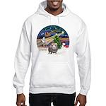 XmasMagic-GuineaPig2 Hooded Sweatshirt
