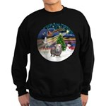 XmasMagic-GuineaPig2 Sweatshirt (dark)