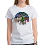 XmasMagic-2 Guinea Pigs Women's T-Shirt