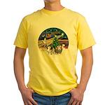 XmasMagic-2 Guinea Pigs Yellow T-Shirt