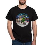XmasMagic-2 Guinea Pigs Dark T-Shirt