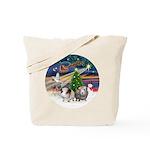 XmasMagic-2 Guinea Pigs Tote Bag