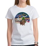 XmasMagic-GuineaPig 3 Women's T-Shirt