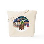 XmasMagic-GuineaPig 3 Tote Bag