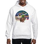 XmasMagic-GuineaPig 3 Hooded Sweatshirt