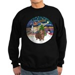 XmasMagic-GuineaPig 3 Sweatshirt (dark)