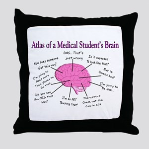 Funny Medical Student Quotes Pillows Cafepress