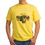 XmasMusic1-GuineaPig2 (h) Yellow T-Shirt
