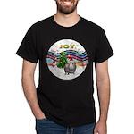 XmasMusic1-GuineaPig2 (h) Dark T-Shirt