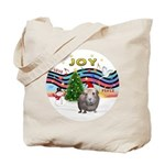 XmasMusic1-GuineaPig2 (h) Tote Bag
