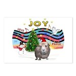 XmasMusic1-GuineaPig2 (h) Postcards (Package of 8)