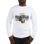 XmasMusic1-GuineaPig2 (h) Long Sleeve T-Shirt