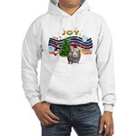 XmasMusic1-GuineaPig2 (h) Hooded Sweatshirt