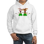 Sola and Luna - Hula Cows! Hooded Sweatshirt