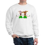 Sola and Luna - Hula Cows! Sweatshirt