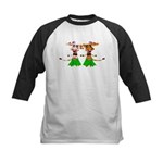 Sola and Luna - Hula Cows! Kids Baseball Jersey