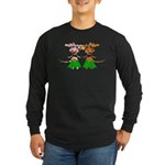Sola and Luna - Hula Cows! Long Sleeve Dark T-Shir