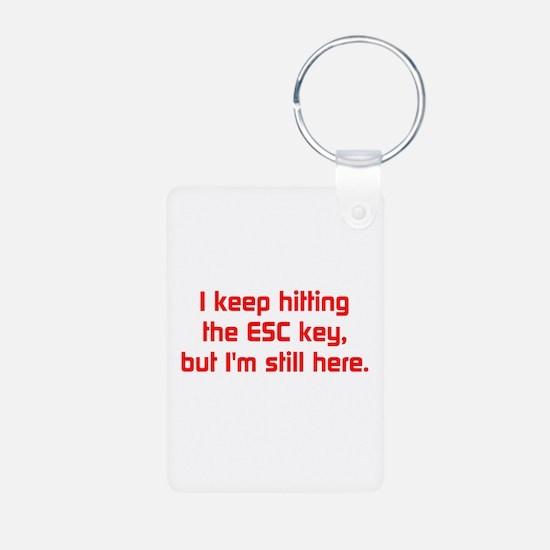 Esc Key Keychains