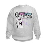 Babebraham Lincoln Kids Sweatshirt