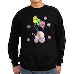 Its A Baby Girl Sweatshirt (dark)