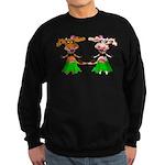 Luna and Sola - Hula Moo! Sweatshirt (dark)