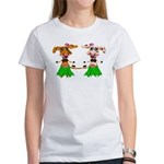 Luna and Sola - Hula Moo! Women's T-Shirt