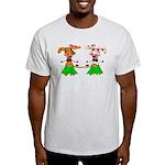 Luna and Sola - Hula Moo! Light T-Shirt