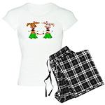 Luna and Sola - Hula Moo! Women's Light Pajamas