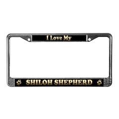 License Plate Frame :love