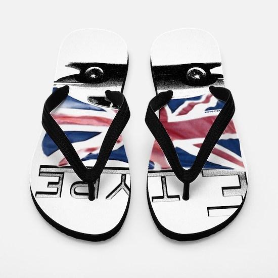 Race flags Flip Flops