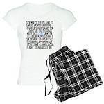 LOST Names Women's Light Pajamas