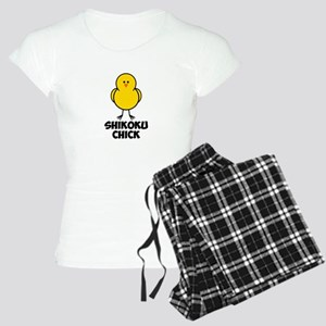 Shikoku Chick Women's Light Pajamas