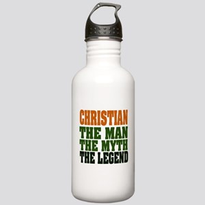 CHRISTIAN - The Legend Stainless Water Bottle 1.0L
