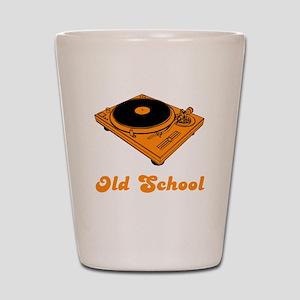 Old School Turntable Shot Glass