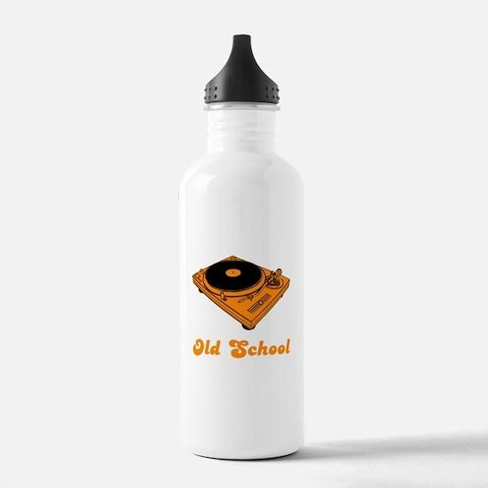 Old School Turntable Water Bottle