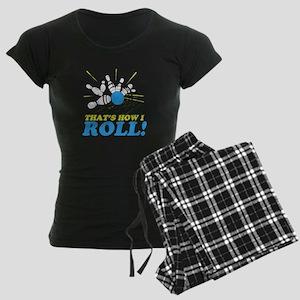 How I Roll Women's Dark Pajamas