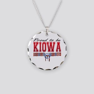 Proud to be Kiowa Necklace Circle Charm