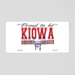 Proud to be Kiowa Aluminum License Plate