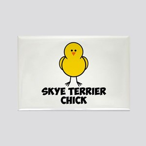 Skye Terrier Chick Rectangle Magnet