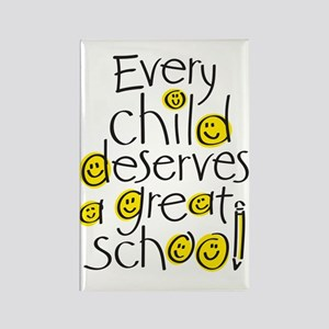 Every Child Deserves Rectangle Magnet